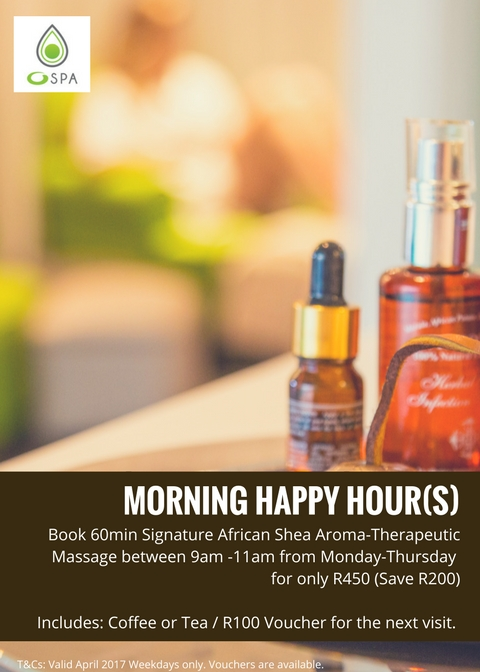 April Morning Happy Hours at the O Spa (1)